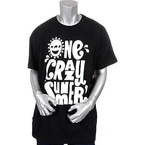 Akademiks Mens One Crazy SS Tee