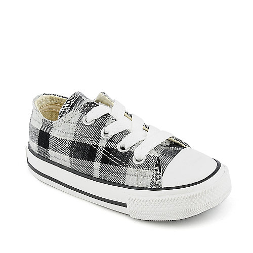 Converse Toddler All Star Plaid Ox