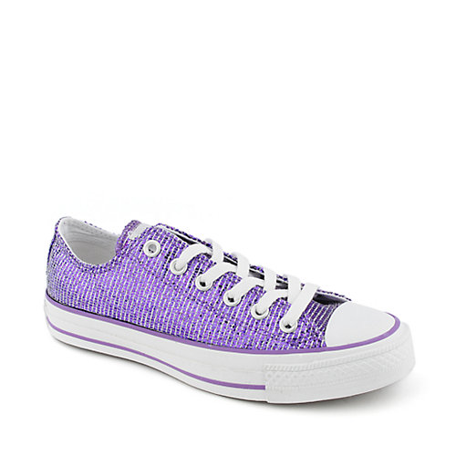 Converse Womens All Stars Sparkle Ox