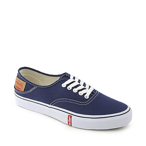 levi s mens rylee 3 buck blue casual lace up sneaker