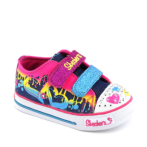 Skechers Toddlers Shuffles Dualing Hearts