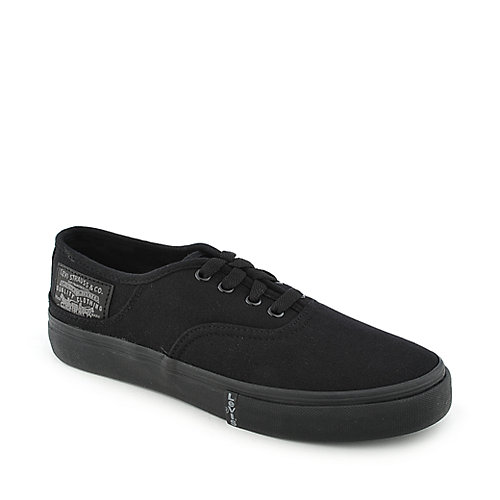 Levis Rylee 3 Buck youth black sneaker