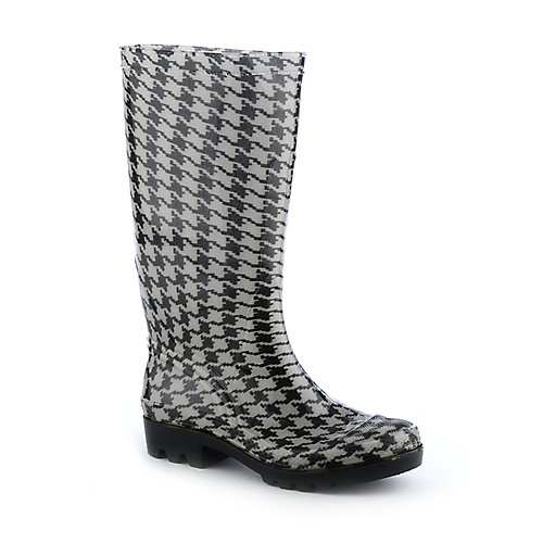 Nature Breeze Hounds Tooth rain boot