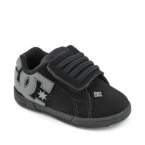 Toddler Black Shoes Velcro