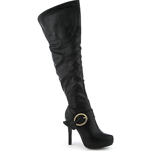 Cleopatra Macy High Heel Thigh-High Boots