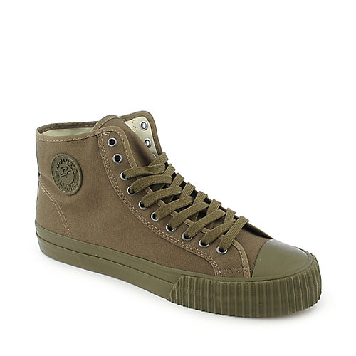 PF Flyers Center Hi Reissue mens green athletic lifestyle sneaker