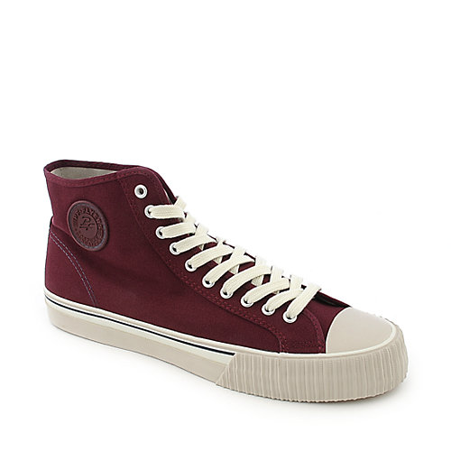 PF Flyers Center Hi Reissue mens red athletic lifestyle sneaker
