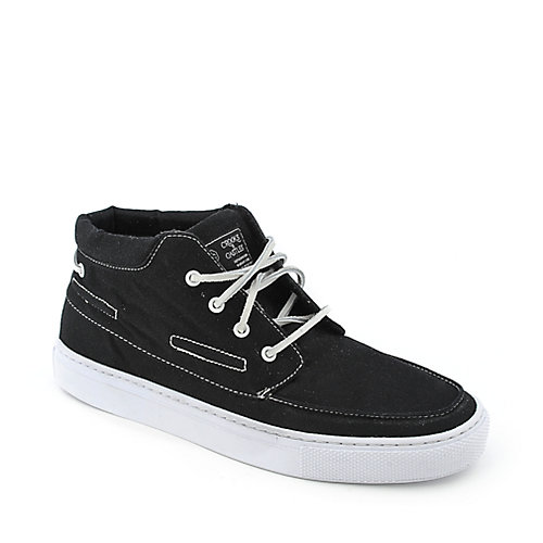 Crooks & Castles Anchor mens black sneaker