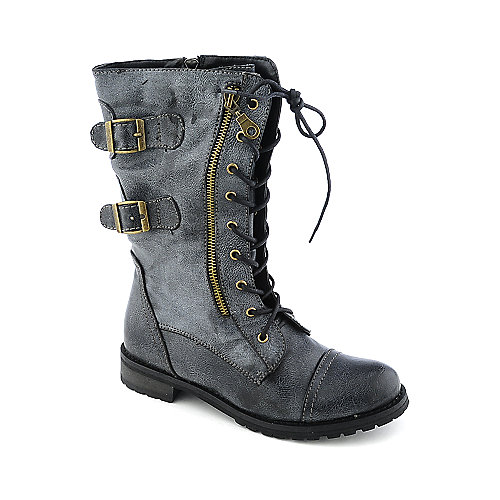 Shiekh Cheer-02 womens military/combat boots