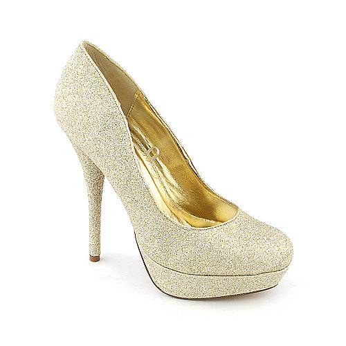 Shiekh Prom womens dress evening glitter platform high heel pump