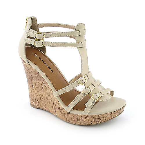 Classified Rocca-S casual platform wedge