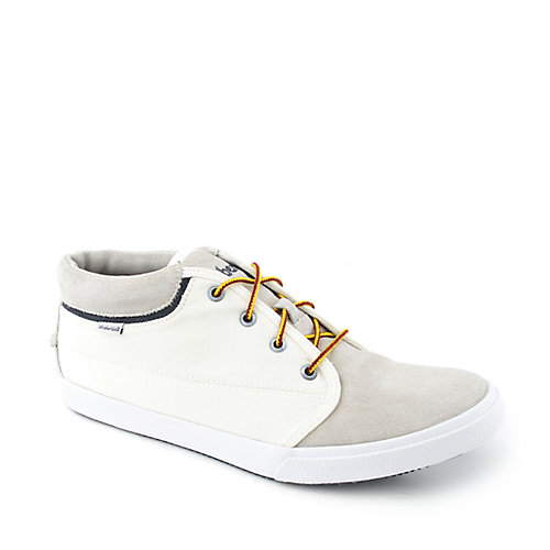 Timberland Canvas Plin Toe Chukka mens casual lace-up