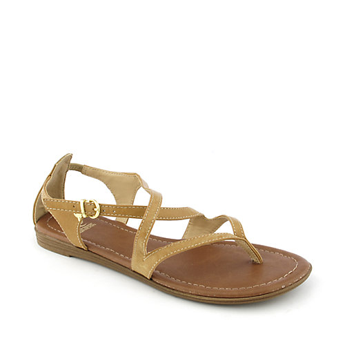 Shiekh Sodium-H womens flat strappy thong sandal