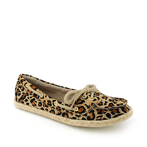 Shiekh Beside-S womens casual slip-on espadrille animal print flat
