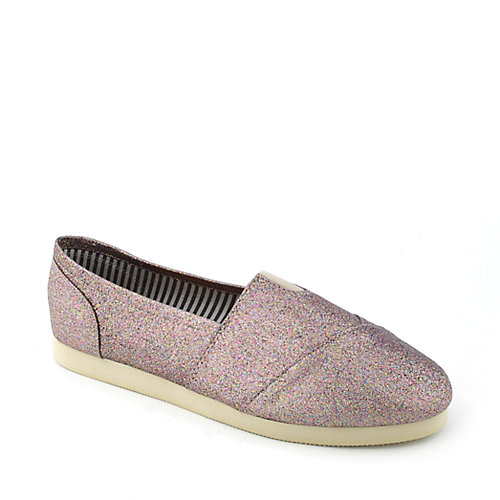 Shiekh Object-GS womens casual slip-on glitter flat
