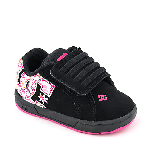 DC Shoes Court Graffik Velcro 2 toddler skate sneaker