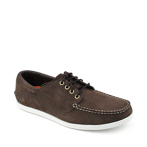 Timberland New Market Camp Moc mens casual lace-up