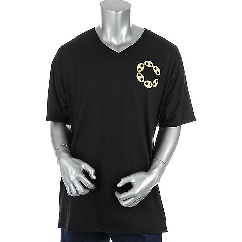 Crooks & Castles Big C Link V-Neck Tee