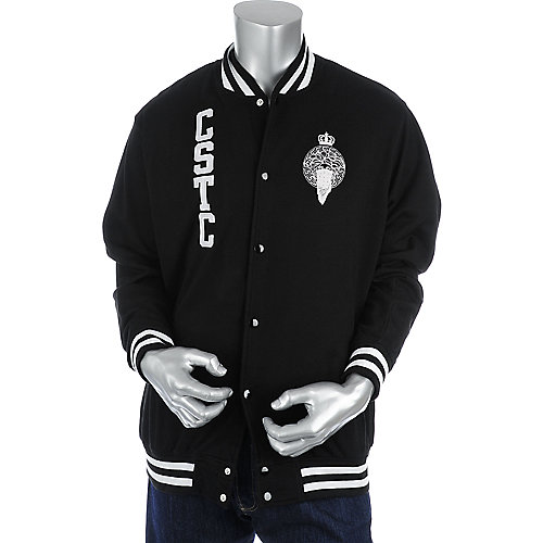 Crooks & Castles Bandito Knit Jacket mens apparel