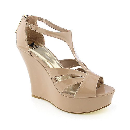 Shiekh Milly womens dress platform wedge heel