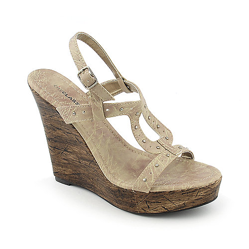 Classified Kernel-H womens casual platform slingback wedge