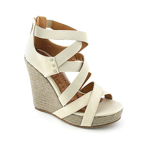 Shiekh Darla womens casual espadrille platform wedge