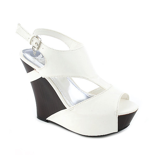Shiekh Rudolf-02 womens casual sling back platform wedge