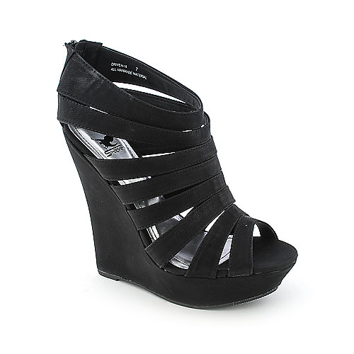 Shiekh Driven-18 womens dress platform wedge