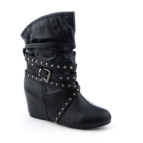 Sweet Seventeen Tamara-02 womens wedge ankle boot