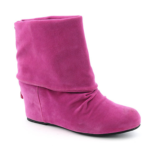 Sweet Seventeen Womens Tamara-01 fuchsia wedge ankle boot