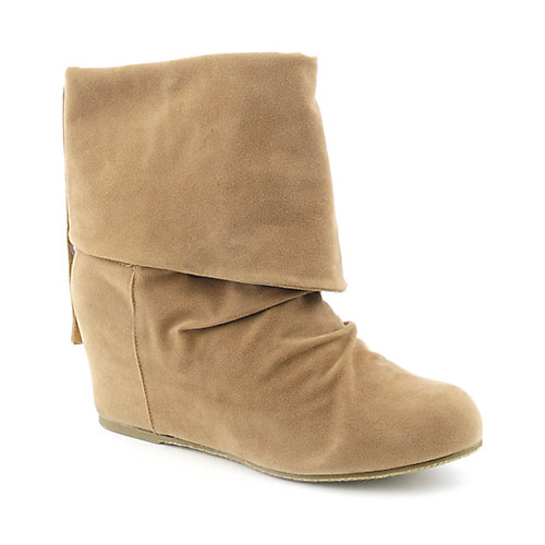 Sweet Seventeen Tamara-01 womens wedge ankle boot