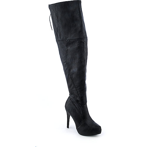 Marichi Mani Cicely-02 womens high heel platform thigh-high boot