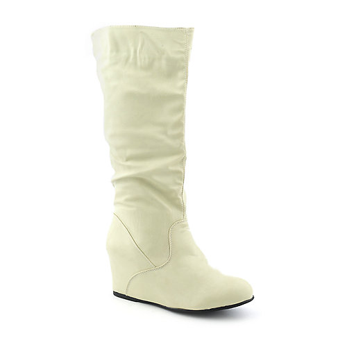Sweet Seventeen Tamara-03 womens wedge mid-calf boot