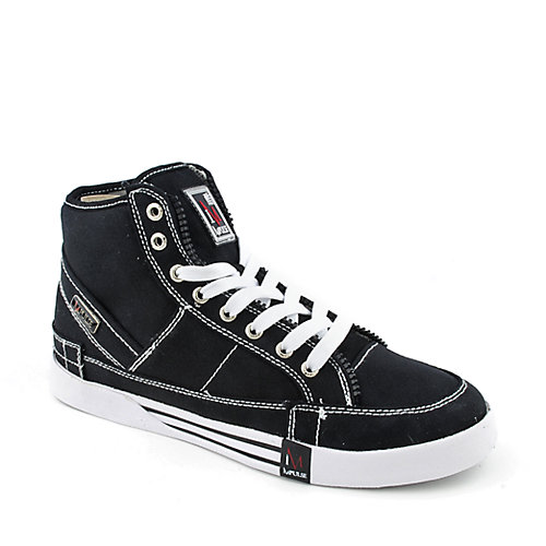 Impulse Canvas Hi Top mens casual lace-up sneaker