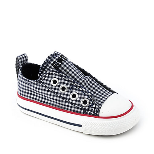Converse Toddler All Star Simple Slip navy toddler shoe
