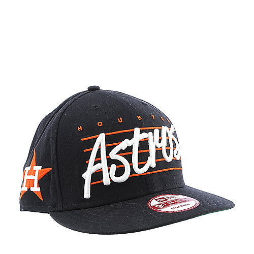 New Era Houston Astros Cap Script Liner snapback