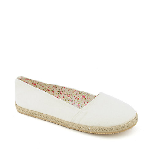 Soda Bill-S womens casual espadrille flat slip-on