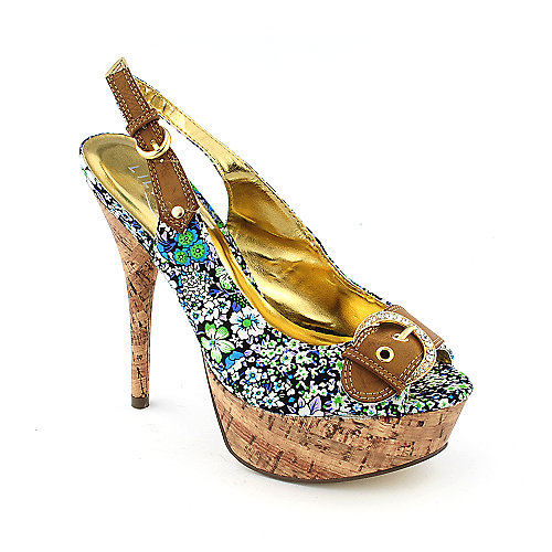 Liliana Valerie-4 womens platform high heel slingback dress shoe