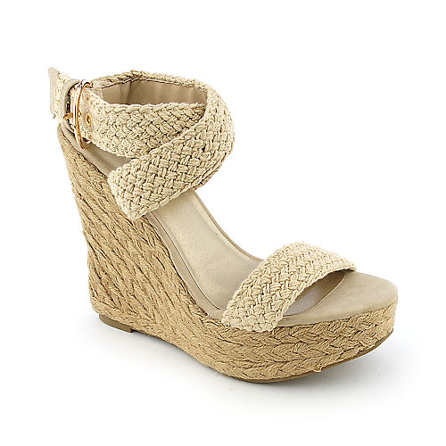 Classified Jojo-S womens casual espadrille platform wedge