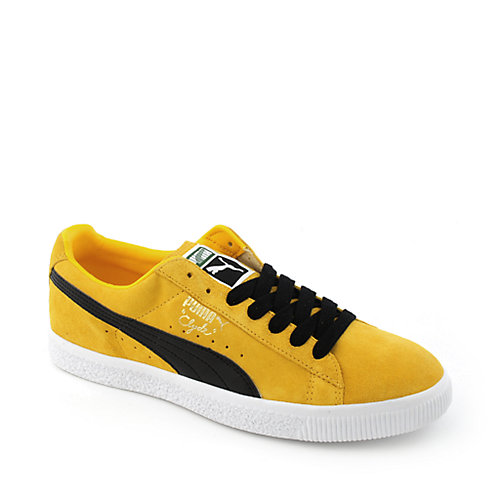 Puma Clyde Script mens athletic basketball sneaker