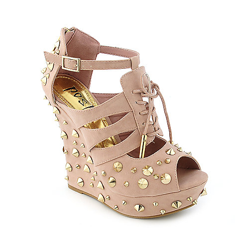 Posh Daria Womens dress high heel platform wedge