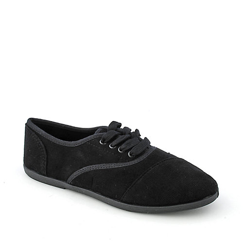 Shiekh A-XL0038 womens casual flat lace-up sneaker