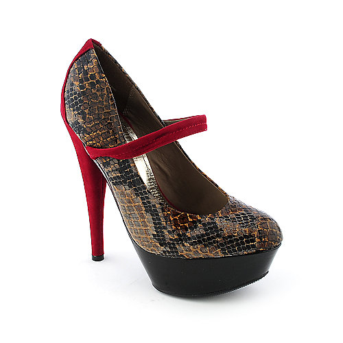Shiekh Topgun-02 womens dress exotic platform high heel