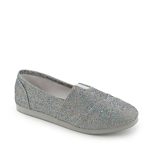 Shiekh Object-GS womens casual glitter slip-on flat