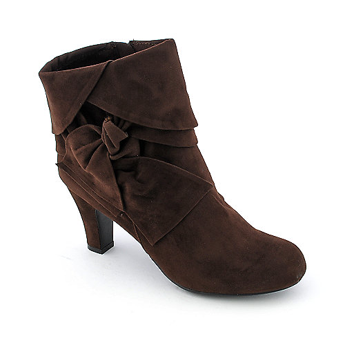 Bamboo Verde-16 womens high heel ankle boot