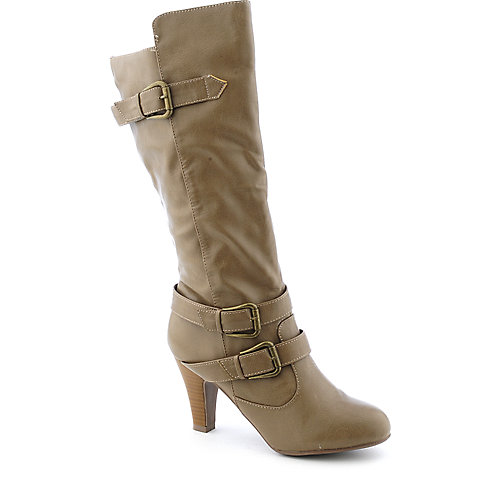 Bamboo Venus-87 womens high heel knee-high boot