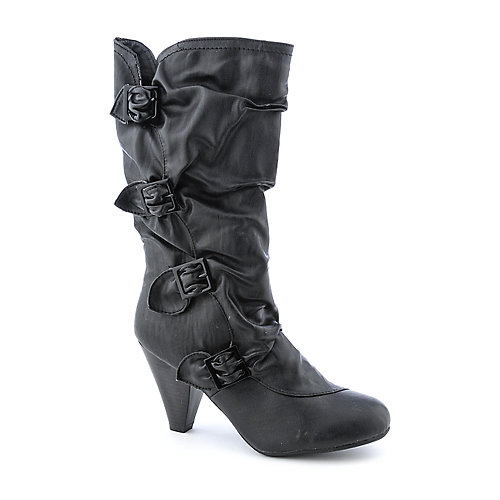 Bamboo Venus-90D womens high heel mid-calf boot