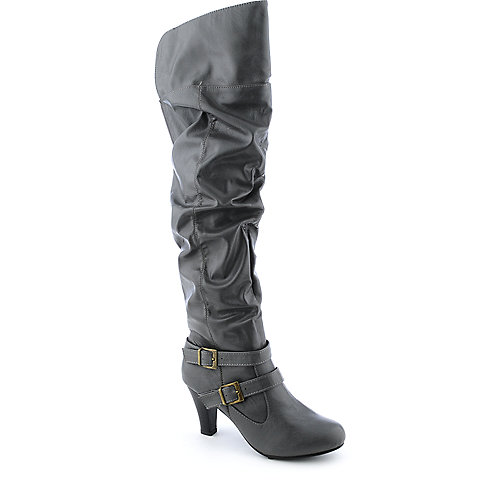 Bamboo Venus-95 womens high heel riding thigh-high boot