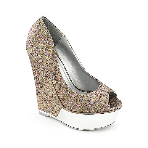 Shiekh Pearl Rain womens peep toe dress shoe