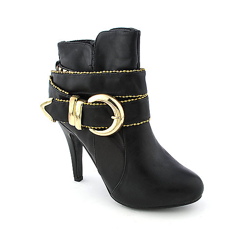 Anne Michelle Strut-65 womens ankle platform high heel boot